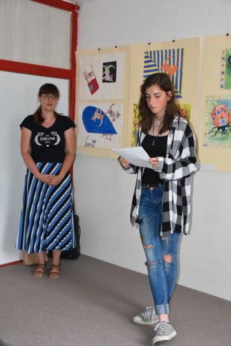 VYSTAVA VÝTVARNÝ ODBOR DETI 2019 UČITEĽKA S.ŠTULEROVÁ 12